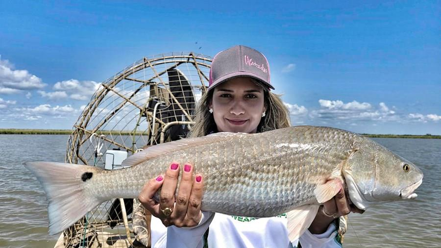 Airboat Redfishing
